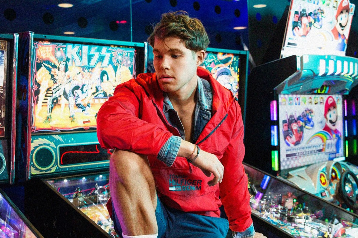 "YSL & Tommy Hilfiger Model Andreas Wijk Releases Debut Video, ""Liar"""