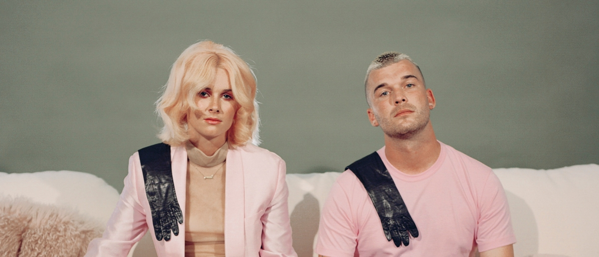 LA-based indie-pop duo Broods return with psychedelic new single and video 'Peach'