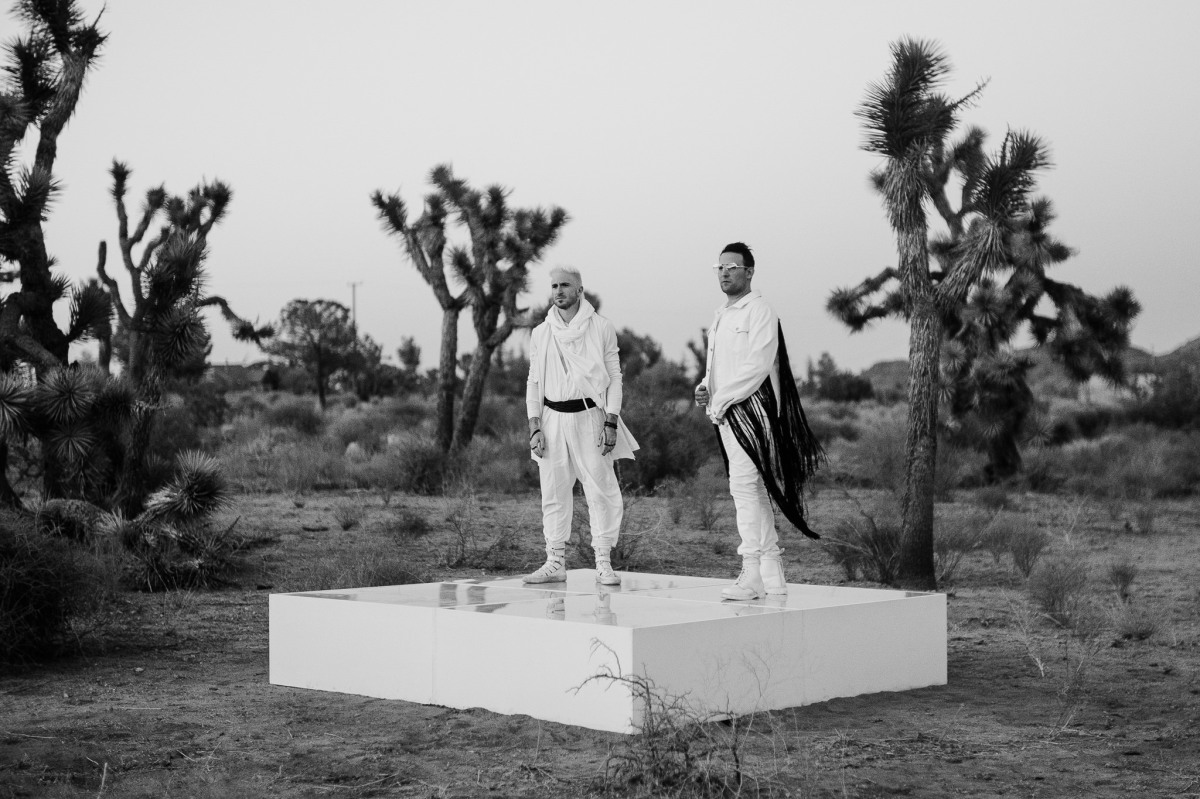 morgxn and alt-pop four-piece WALK THE MOON have come together to reveal their take on morgxn's standout track with a stunningly cinematic video for 'home'
